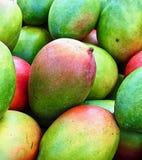 Macro of fresh mango fruits stock photography