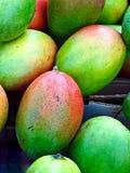 Macro of fresh mango fruits royalty free stock photo