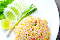 Macro Fried rice Royalty Free Stock Images