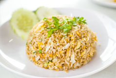 Macro Fried rice Royalty Free Stock Photography