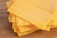 Macro fromage de cheddar Image libre de droits