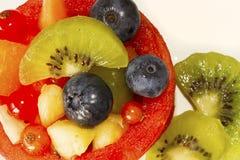 Macro Fruit Basket Royalty Free Stock Images