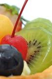 Macro fruit cake Royalty Free Stock Photo
