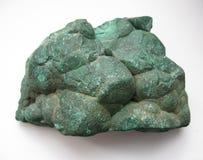 Macro fucilazione della pietra preziosa naturale - minerale della malachite Fotografie Stock