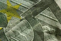 Macro geldachtergrond royalty-vrije stock foto