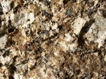 Macro Granite stock image