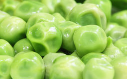 Macro of green peas Royalty Free Stock Photo