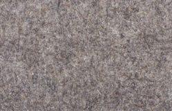 Macro of grey felt texture Royalty Free Stock Photo