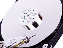 Macro hard drive Royalty Free Stock Photo