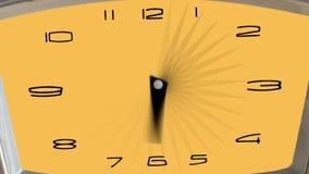 Macro - hyperlapse de un reloj - timelapse stock de ilustración