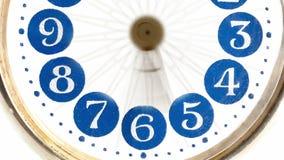 Macro - hyperlapse de un reloj - timelapse ilustración del vector