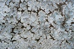 Macro ice crystals Royalty Free Stock Image