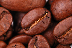 Macro image of coffee Stock Photo