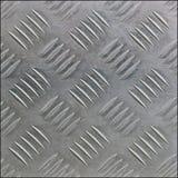 Macro image de la plaque d'acier inoxydable texturisée images libres de droits