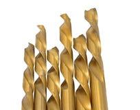 Macro image of Drill bits Royalty Free Stock Photography