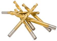 Macro image of Drill bits Stock Photo