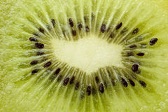 Macro image of kiwi Stock Photos