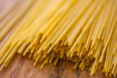 Pasta on wood Royalty Free Stock Image