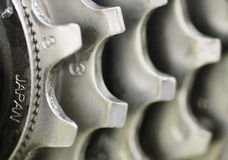 Macro Image, Rear Gear Set. Stock Photo
