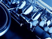 The macro image saxophone Stock Photo