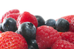 Closeup on Berries Stock Images