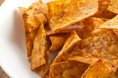 Spicy Chips Stock Photos