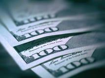 Macro immagine di nuovo dollaro della fattura Immagini Stock Libere da Diritti