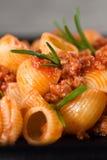 Macro Italian Pasta Royalty Free Stock Image