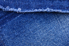 Macro of Jeans Royalty Free Stock Image