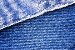 Macro of Jeans Royalty Free Stock Photos