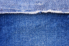 Macro of Jeans Stock Photos