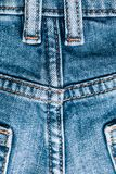 Macro jeans texture. Close up picture.  stock images