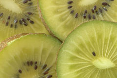 Macro of a kiwi Stock Photo