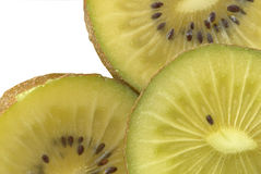 Macro of a kiwi. Macro photo of a kiwi Royalty Free Stock Images
