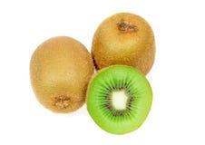Macro Kiwi fruit sliced Royalty Free Stock Photo