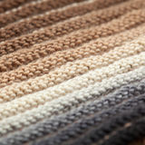 Macro knitting background Stock Photo