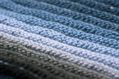 Macro knitting background Royalty Free Stock Photo