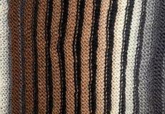 Macro knitting background Royalty Free Stock Photo
