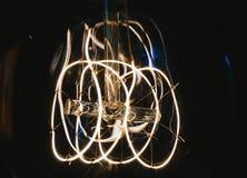 Macro lampe électrique Image stock