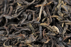 Macro of Lapsang Souchong tea Royalty Free Stock Images