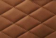 Macro leather pattern background. Synthetic leatherette surface. royalty free stock photography