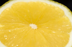 Macro of Lemon Royalty Free Stock Image