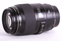 Macro lens. A macro lens isolated on white Royalty Free Stock Photo