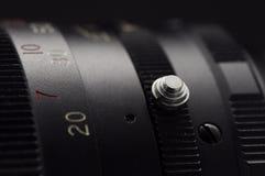 Macro lentille Photo libre de droits