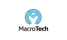Macro logo de technologie Illustration Libre de Droits