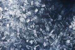 Macro look of snow crystals, snowflakes. Abstract winter background. Macro look of snowflakes, snow crystals. Abstract winter background stock images