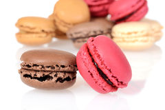 Macro macaroons cookies Stock Image