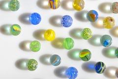 Macro marble balls Royalty Free Stock Photos