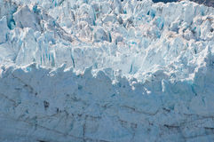 Macro of Margerie Glacier Royalty Free Stock Images