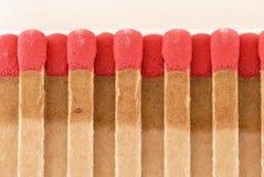 Macro Matches Stock Photo